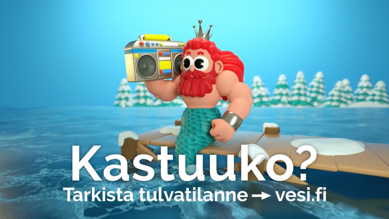 vesi.fi bannerimalli Tarkista tulvatilanne (kevät)