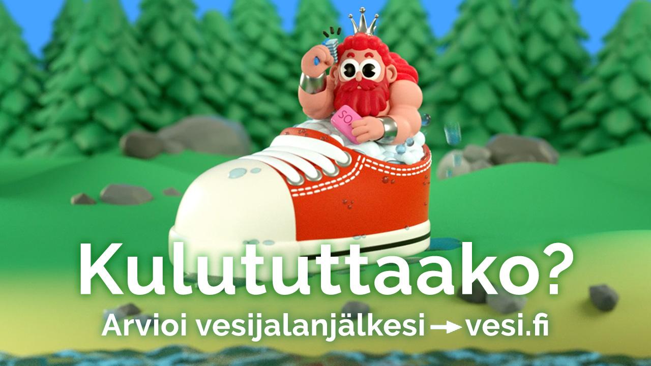 vesi.fi bannerimalli Jalanjälkilaskuri