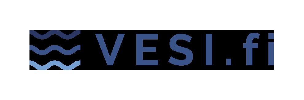 vesi.fi logo värillinen liikemerkillä